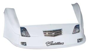 MD3 Gen 2 Nose/Fender/Decal Kit - Flat RF - (White-Cadillac)