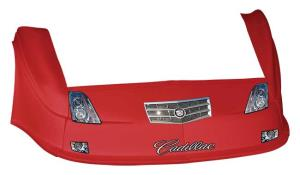 MD3 Gen 2 Nose-Fender-Decal Kit - Flat RF - (Red-Cadillac)