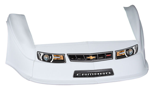 MD3 Gen 2 Nose-Fender-Decal Kit - Flat RF - (White-Camaro)