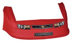 MD3 Gen 2 Nose-Fender-Decal Kit - Flat RF - (Red-Camaro)