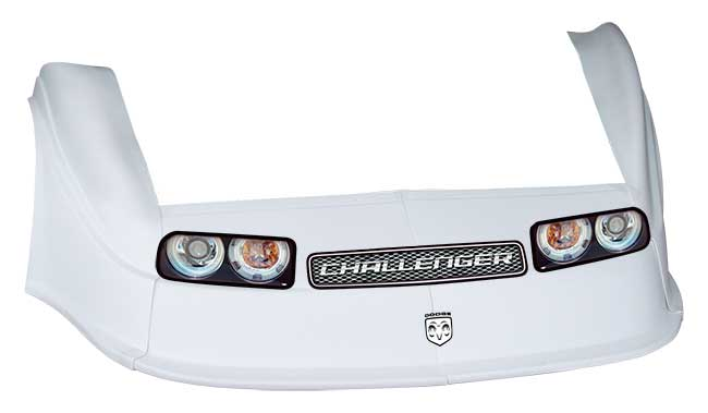 MD3 Gen 2 Nose/Fender/Decal Kit - Flat RF - (White-Chall)