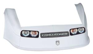 MD3 Gen 2 Nose-Fender-Decal Kit - Flat RF - (White-Chall)
