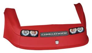 MD3 Gen 2 Nose-Fender-Decal Kit - Flat RF - (Red-Chall)