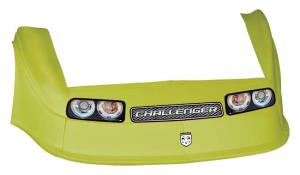 MD3 Gen 2 Nose-Fender-Decal Kit - Flat RF - (Yellow-Chall)