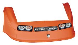 MD3 Gen 2 Nose-Fender-Decal Kit - Flat RF - (Orange-Chall)