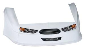 MD3 Gen 2 Nose-Fender-Decal Kit - Flat RF -(White-Fusion)