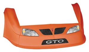MD3 Gen 2 Nose-Fender-Decal Kit - Flat RF - (Orange-GTO)