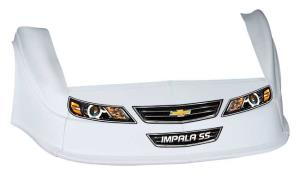 MD3 Gen 2 Nose/Fender/Decal Kit - Flat RF -(White-Impala)