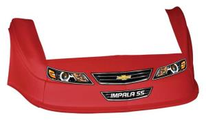 MD3 Gen 2 Nose/Fender/Decal Kit - Flat RF -(Red-Impala)