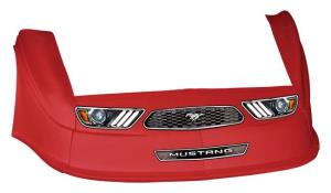 MD3 Gen 2 Nose-Fender-Decal Kit - Flat RF-(Red-Mustang)