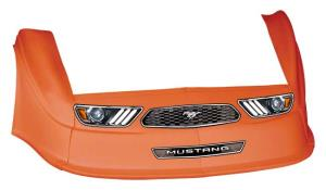 MD3 Gen 2 Nose-Fender-Decal Kit - Flat RF-(Orange-Mustang)