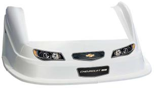 MD3 Evo 1 Nose-Fender-Decal Kit - Flat RF - (White-Chevy SS)