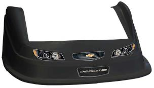 MD3 Evo 1 Nose-Fender-Decal Kit - Flat RF - (Black-Chevy SS)