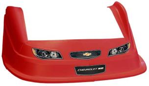 MD3 Evo 1 Nose-Fender-Decal Kit - Flat RF - (Red-Chevy SS)