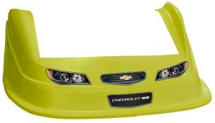 MD3 Evo 1 Nose-Fender-Decal Kit - Flat RF -(Yellow-Chevy SS)