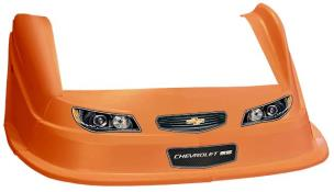 MD3 Evo 1 Nose-Fender-Decal Kit - Flat RF -(Orange-Chevy SS)