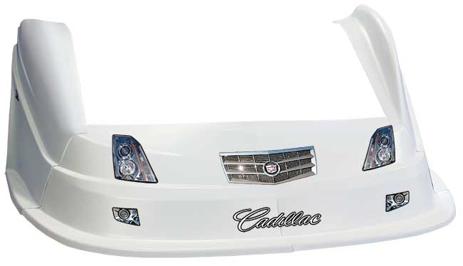 MD3 Evo 1 Nose/Fender/Decal Kit- Flat RF - (White-Cadillac)