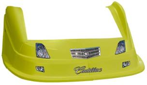 MD3 Evo 1 Nose/Fender/Decal Kit- Flat RF - (Yellow-Cadillac)