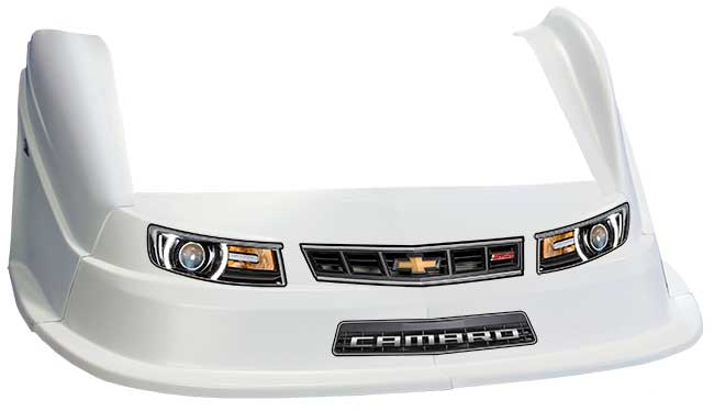MD3 Evo 1 Nose/Fender/Decal Kit - Flat RF - (White-Camaro)