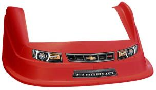 MD3 Evo 1 Nose/Fender/Decal Kit - Flat RF - (Red-Camaro)