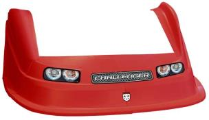 MD3 Evo 1 Nose/Fender/Decal Kit - Flat RF-(Red-Challenger)