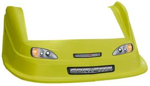 MD3 Evo 1 Nose/Fender/Decal Kit - Flat RF -(Yellow-Corvette)