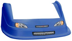 MD3 Evo 1 Nose/Fender/Decal Kit - Flat RF - (CB-Corvette)