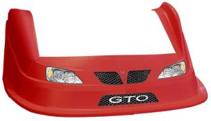 MD3 Evo 1 Nose-Fender-Decal Kit - Flat RF - (Red-GTO)