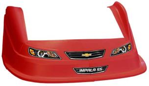 MD3 Evo 1 Nose-Fender-Decal Kit - Flat RF - (Red-Impala)