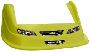 MD3 Evo 1 Nose-Fender-Decal Kit - Flat RF - (Yellow-Impala)