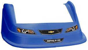 MD3 Evo 1 Nose-Fender-Decal Kit - Flat RF - (CB-Impala)