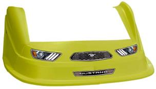 MD3 Evo 1 Nose-Fender-Decal Kit - Flat RF - (Yellow-Mustang)