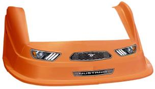MD3 Evo 1 Nose-Fender-Decal Kit - Flat RF - (Orange-Mustang)