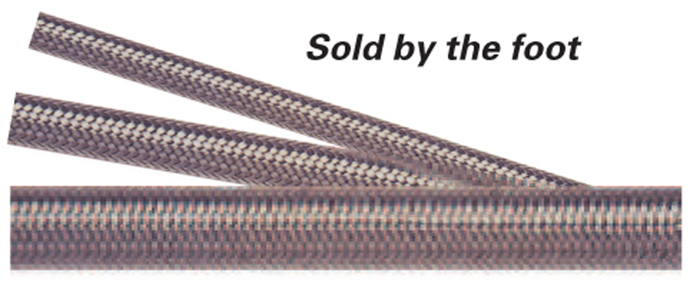Jones Stainless Steel Braided #4 Hose - (Sold per foot)