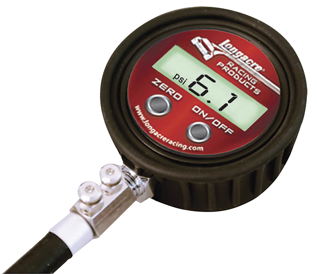 Longacre Pro Digital Tire Gauge - (0-25 PSI)