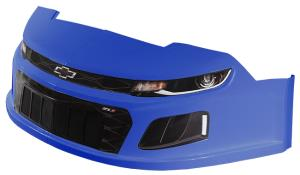 MD3 Stock Car Nose Kit w/Decals - (Chevron Blue - Camaro)