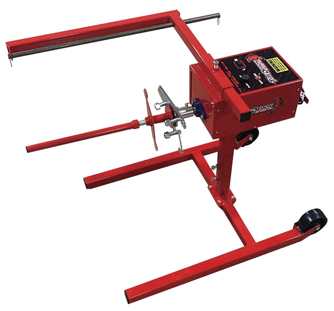 Picture of Tire Demon Base Machine - Variable Speed