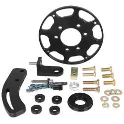 "MSD SBC Black Crank Trigger Kit - (7"" Balancer)"