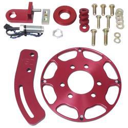 "MSD SBC Red Crank Trigger Kit - (7"" Balancer)"