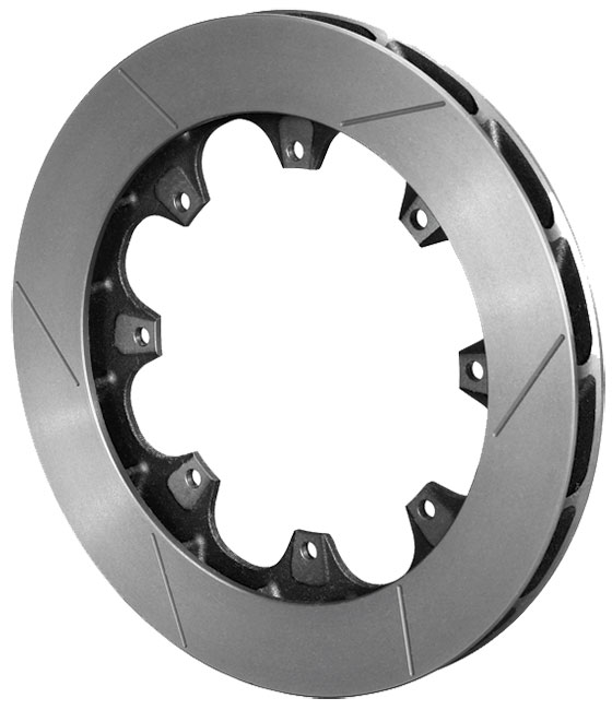 "Wilwood ULGT 16 Curved Vane Slotted Spec-37 Rotor - (RH-1"")"