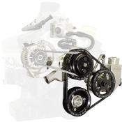 Picture of Jones SBC-Crate V-Belt Water Pump & Power Steering Drive Kit
