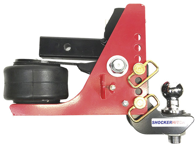 "Picture of Shocker Air Hitch with Drop Ball Mount (4-1/2"" to 7-1/2"" of drop)"