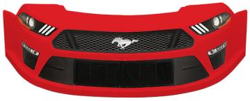 MD3 Mustang Stock Car Nose Kit w/Decals - (Red)