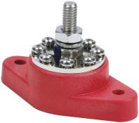 Quickcar 8 Point Power Distribution Post - Red