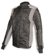 Impact Racer Jacket - Black W/Gray - Medium
