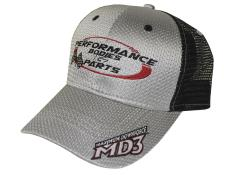Performance Bodies Hat - Silver & Black - New Logo