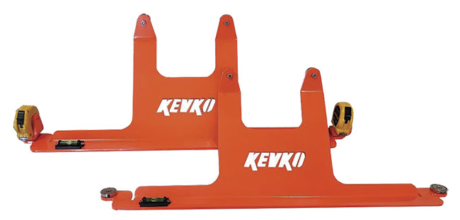 Kevko Magnetic Toe Plates - (Neon Orange)