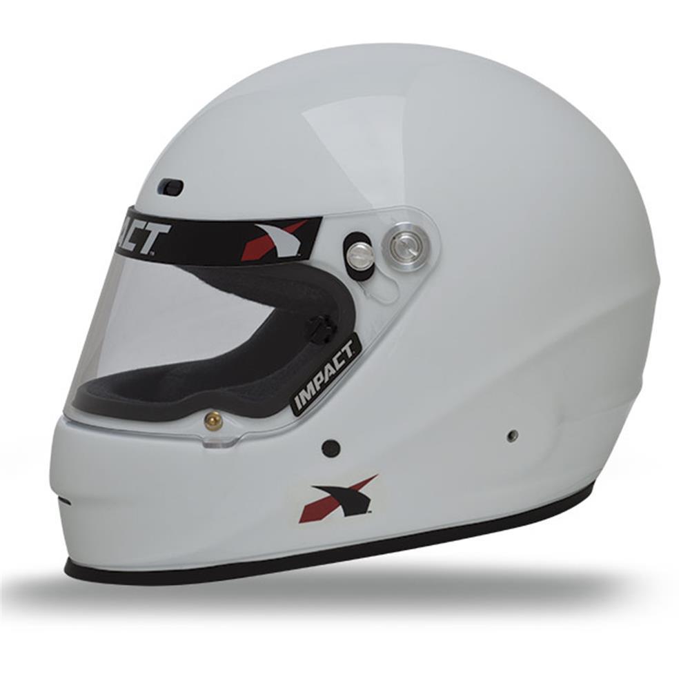 Impact Helmet - 1320 - Medium - White - Snell 20