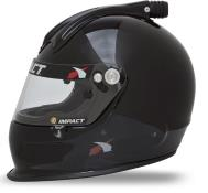 Impact Helmet - Super Charger - Medium - Black - Snell20