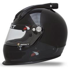 Impact Helmet - Super Charger - Medium - Black - Snell20